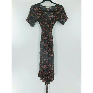 FAT FACE United Kingdom TROPICAL MIDI Wrap Dress 2